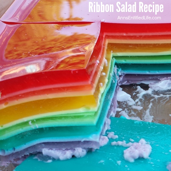 Ribbon Salad Recipe. This Ribbon Salad looks spectacular and tastes even better! It is sooooo easy to make, but be warned there is a lot of chill time involved. Your friends and family will love this highly customizable Ribbon Salad.