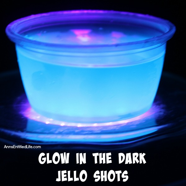 Glow in the Dark Jello Shots Recipe. This Glow in the Dark jello shots recipe is a really cool addition to any party! Easy to make, these are a lot of fun to look at, and mighty tasty to boot. If you are wondering how to make glow in the dark jello shots, this recipe is for you.
