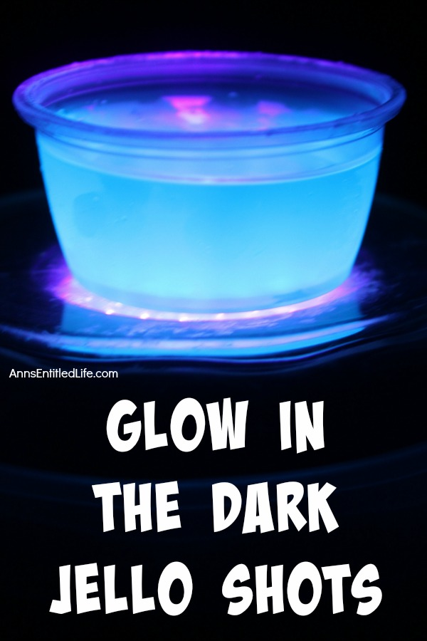 This Glow in the Dark jello shots recipe is a really cool addition to any party! Easy to make, these are a lot of fun to look at, and mighty tasty to boot. If you are wondering how to make glow in the dark jello shots, this recipe is for you.