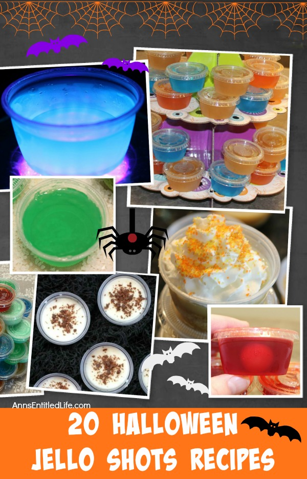 20 Halloween Jello Shots Recipes. From creepy to spooky to adorable, these 20 Halloween Jello Shots are certain to be a hit at your Halloween Party! So get the party started with these unusual and easy to make Halloween Jello Shots Recipes.