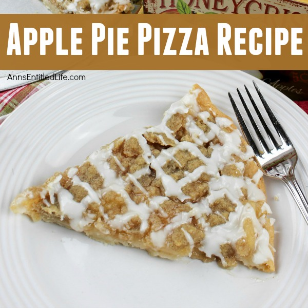 Apple Pie Pizza Recipe. If you love the great taste of apple pie, you will love this easy to make apple pie pizza recipe. This simple to make dessert pie has an amazing and enticing aroma and truly tastes delicious. Your whole family will enjoy the great taste of this apple pie pizza.