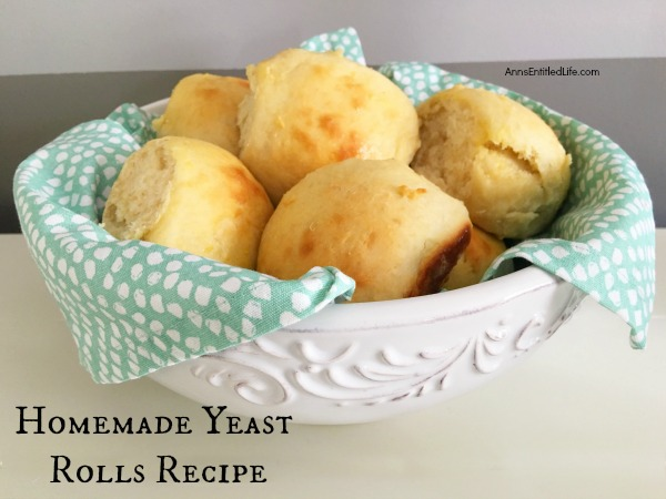 Homemade Yeast Rolls Recipe. From scratch homemade rolls are warm, soft, delicious, and they smell fantastic too! Nothing tastes better than fresh homemade rolls. Make your own rolls with this easy (really!) Homemade Yeast Rolls Recipe.