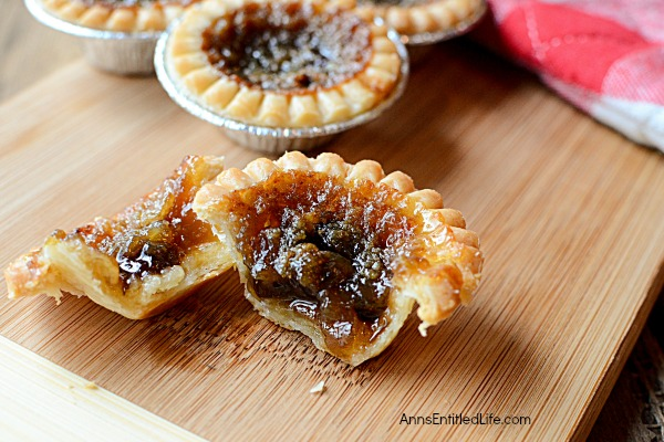 Butter Tarts Recipe. This update to the classic Butter Tart recipe is a taste of bite-sized goodness. These Butter Tarts are flaky delicious and really easy to make. If you like Butter Tarts, you will love this simple Butter Tart recipe.