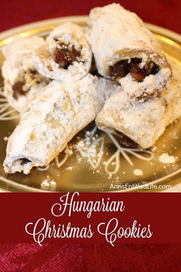 Hungarian Christmas Traditions.Hungarian Christmas Cookies Recipe