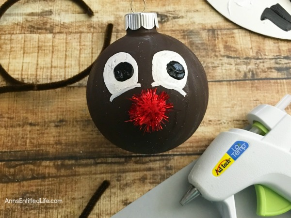 How to Make Your Own Rudolph Ornament. Looking for an adorable Christmas ornament craft that nearly anyone can make!? Here are step by step tutorial directions on how to make your own Rudolph ornament.