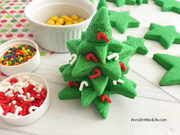 Stackable Christmas Tree Cookies Recipe. These adorable stackable Christmas tree cookies are easy to make, and a lot of fun to decorate! If you want to make special holiday 3-D cookies this year, give this Stackable Christmas Tree Cookies recipe a try.
