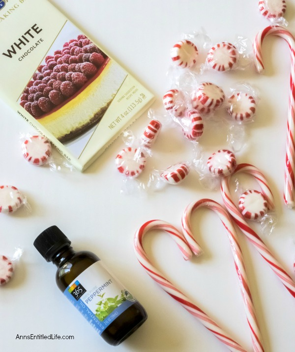 White Chocolate Peppermint Bark Recipe. Homemade holiday sweets do not get any easier to make than this White Chocolate Peppermint Bark! This refreshing peppermint bark is so good you will want to make a double batch. Give as a tasty holiday gift, or indulge in a special holiday candy yourself, this White Chocolate Peppermint Bark makes the holidays even sweeter.