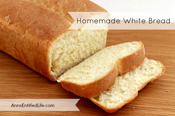 Homemade White Bread Recipe. There is nothing that tastes as good as fresh, warm, homemade bread. Nothing. It is simpler than you think to make homemade white bread. This soft and delicious homemade white bread recipe is great for sandwiches, toast, stuffing or to eat alone.