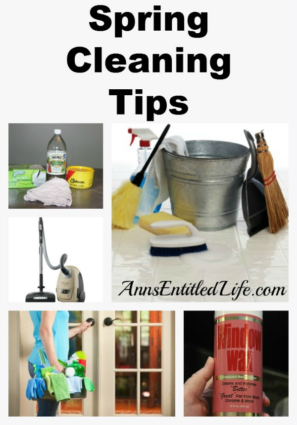 Spring Cleaning Tips and ideas for a faster, easier, more thorough spring clean. Use these 8 great spring cleaning tips to help make your major housecleaning easier.