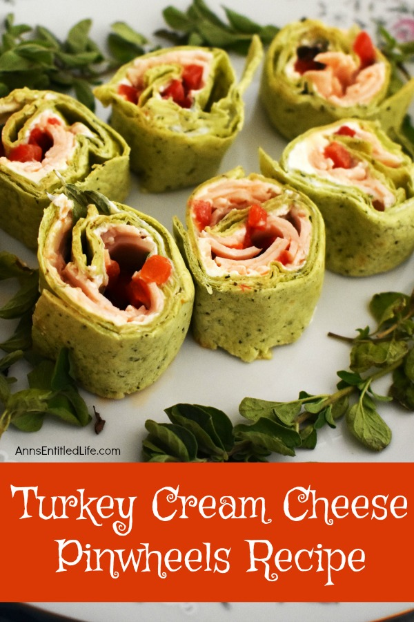 Turkey Cream Cheese Pinwheels Recipe
