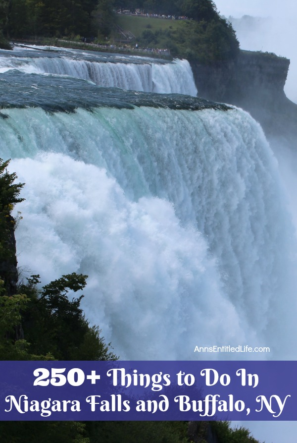 250 Things to Do In Niagara Falls and Buffalo, NY.  A long list of over 250 different things to do in the Niagara Falls, NY and Buffalo, NY area that are great for adults and children. From state parks to museums, to architecture and zoos, there is so much to do in Western New York and this list of amazing places, spaces and activities will get you started.