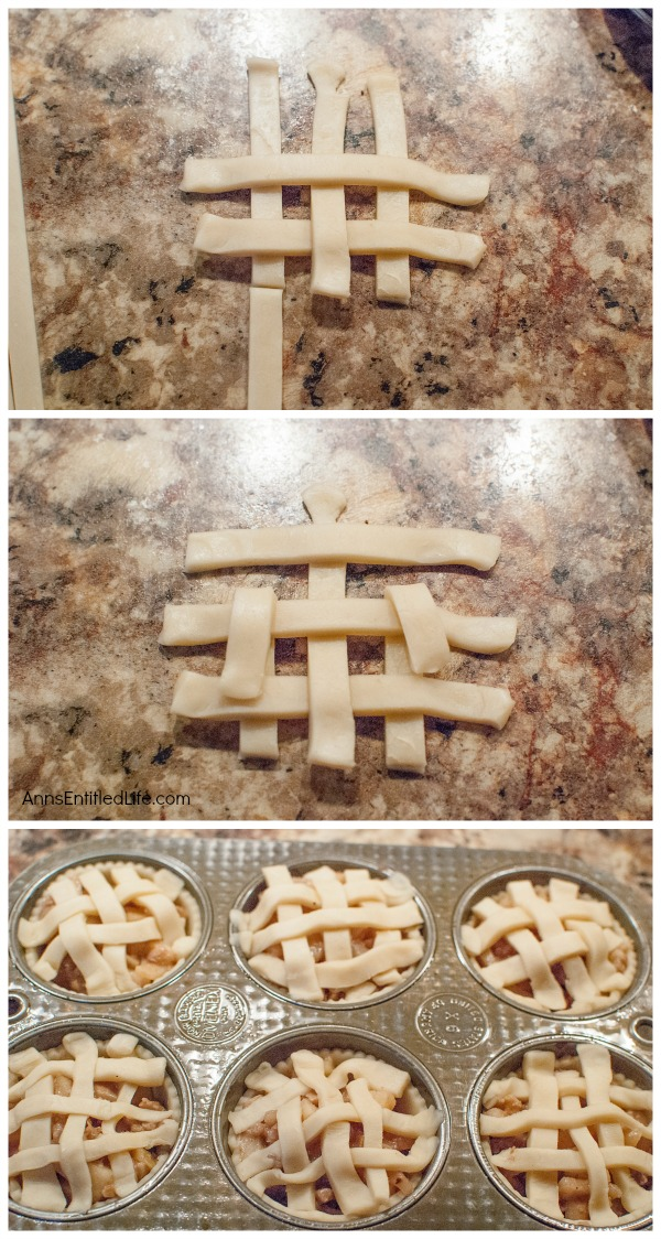 Baby Apple Walnut Pies Recipe. These simple, six-ingredient, baby apple walnut pies are fabulous! Easy to make, these Baby Apple Walnut Pies will impress your friends and family. A wonderful fall or winter dessert, these baby pies are a wonderful sweet treat.