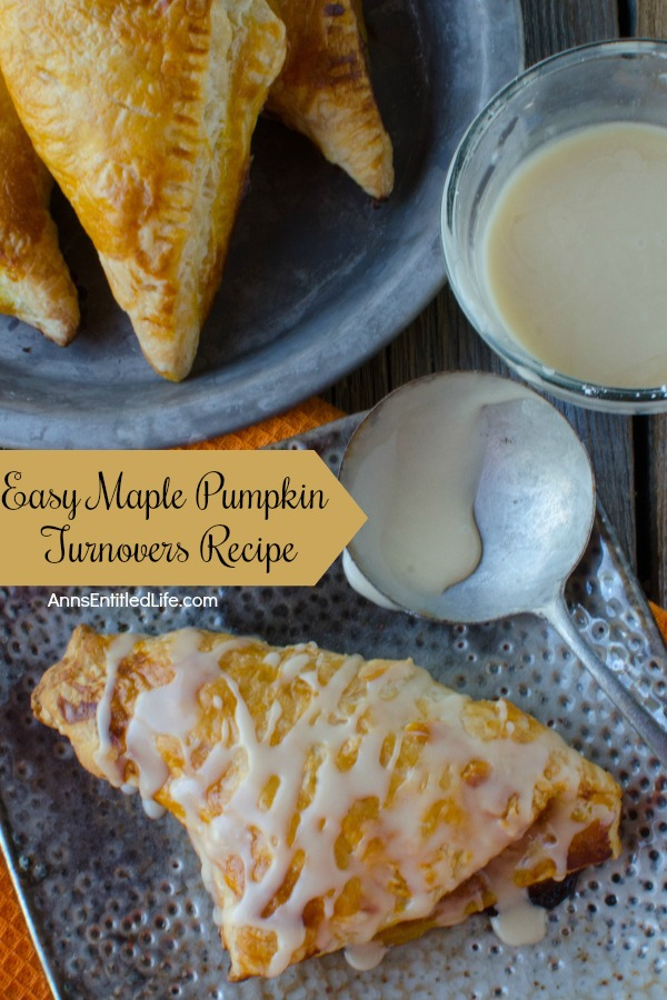 Easy Maple Pumpkin Turnovers Recipe. These amazing maple pumpkin turnovers are a wonderful breakfast treat your entire family will enjoy. Perfect for an on-the-go breakfast, packed in a lunchbox, or as a fabulous dessert, these pumpkin turnovers are a sweet and tasty delight.