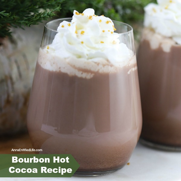 Bourbon Hot Cocoa Recipe. Delicious hot cocoa for adults! This bourbon hot cocoa recipe is simple to make. Infused with a hint of orange, this adult hot cocoa beverage is a wonderful treat on a cold night.