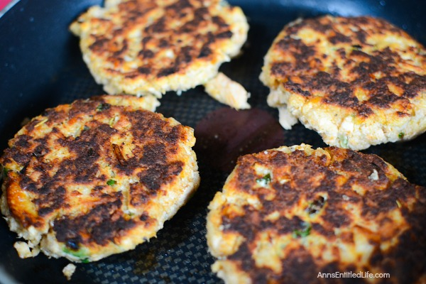 Easy Salmon Patties Recipe. This simple to make salmon recipe is great for using up leftover cooked salmon. Ready in about 15 minutes, these salmon patties are a fabulous lunch or dinner entrée.