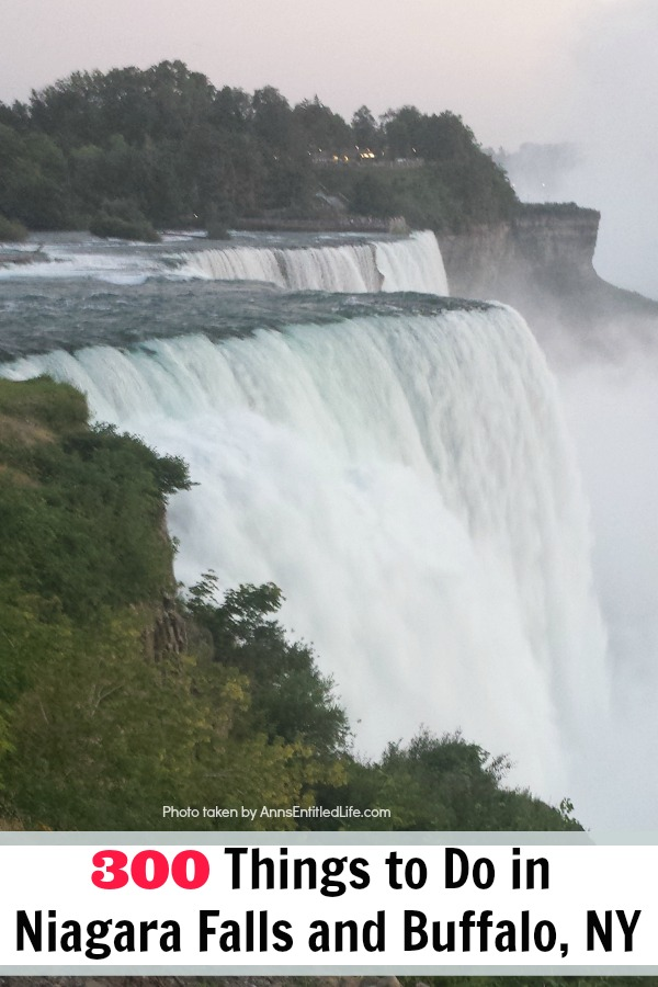 This is a long list of events, places, and things to do in Buffalo, and Niagara Falls, New York. This includes things to do in all of the 8 counties of Western New York. From touristy things to do, to things only locals know about, this great list of 300 Things to do in Niagara Falls and Buffalo, NY has something for everyone on it! If you are looking for what to do in Buffalo and Niagara Falls, this list is what you need!