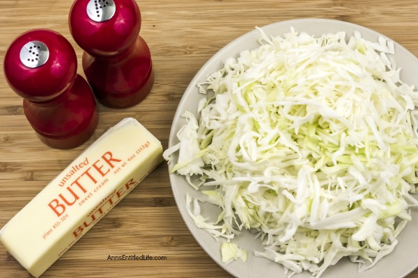 Frizzled Cabbage Recipe. This Frizzled Cabbage Recipe will make cabbage lovers out of everyone! Easy to make, the sautéing brings out the flavor and makes your cabbage oh so sweet.  I was not a cabbage fan before this frizzled cabbage recipe, and now I love cabbage!