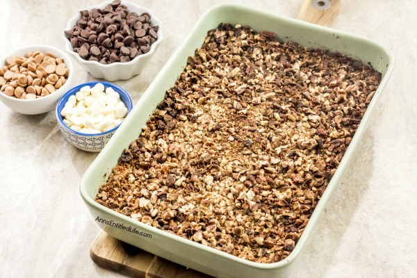 Hello Dolly Bars Recipe. Whether you call them Hello Dolly Bars, 7 Layer Cookies, or Magic Cookie Bars, this recipe for a sweet and delicious, easy to make coconut, chocolate, pecan bar is simply fantastic! Try these hello Dollies today.