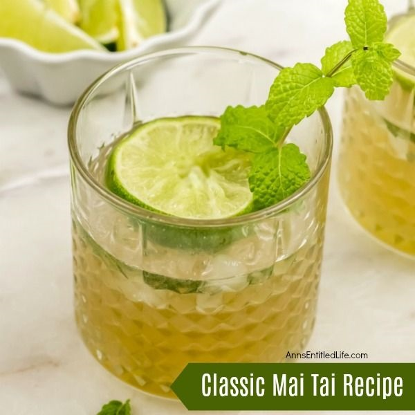 Classic Mai Tai Recipe. The delicious, original, Mai Tai recipe is honestly the best Mai Tai recipe. Sometimes, sticking with the classics is best. Easy to make, the Mai Tai cocktail dates back 75 years. This Tahitian cocktail is fabulous for parties, get-togethers, or relaxing by the pool. The traditional Mai Tai is truly Paradise In A Glass™!