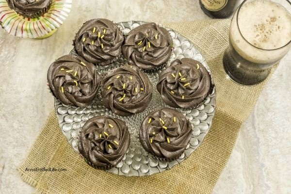 Beer and Sauerkraut Cupcakes Recipe. Sounds weird, tastes great!! This unusual chocolate cupcake is so, so good. The cocoa, beer, and sauerkraut combination makes for an exquisite pairing you have simply must try! Easy to make, this beer cupcake recipe is unique and fabulous.