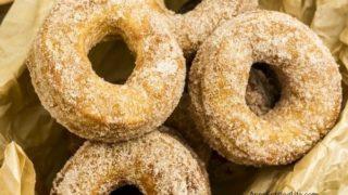 Easy Homemade Cinnamon Sugar Donuts Recipe