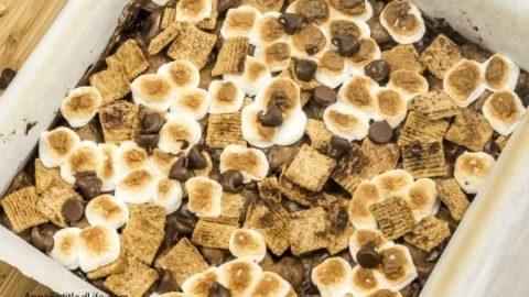 Golden Grahams® S'mores Brownies Recipe