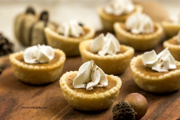 These sweet little mini pumpkin pies are just so simple to make! If you are searching for a delicious bite-sized holiday dessert, these individual pumpkin pie bites are sure to impress your family and friends. Only you will know how easy they were to prepare.