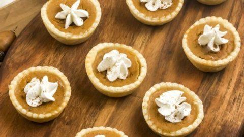 Easy Mini Pumpkin Pies Recipe