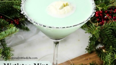 Mistletoe Mint Cocktail