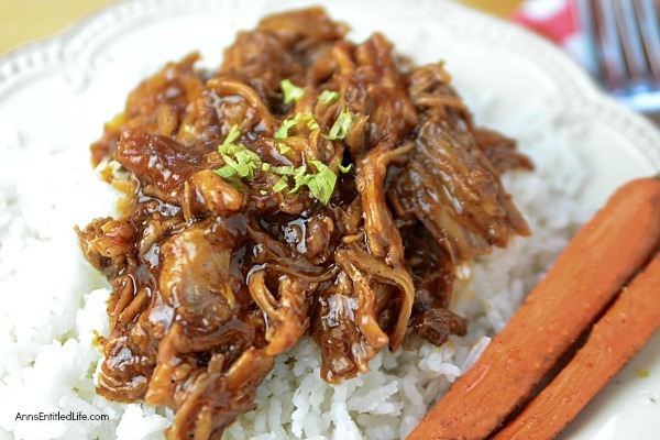 Slow Cooker Recipe: Root Beer Barbecue Pulled Pork. This easy to make slow cooker pork recipe is simply delicious! The root beer pulled pork is sweet and tasty - perfect for family dinner, leftovers for lunch, or when you are craving a pulled pork sandwich.