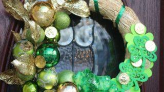 St. Patrick's Day Luck o' the Irish Wreath