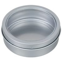 Jot Magnetic Round Metal Containers 3.5 by JOT