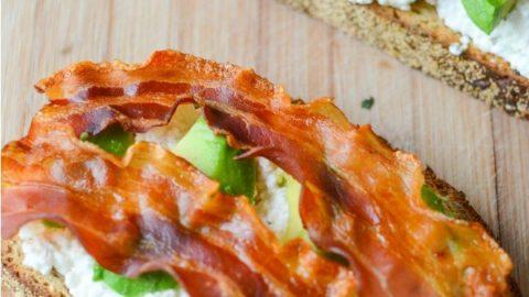 Creamy Avocado Breakfast Toasties Recipe