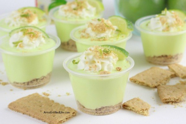 Key Lime Pie Pudding Shots Recipe. If you like the taste of key lime pie, you will love this adult version of a key lime pie in a pudding shot! Boozy and tangy with a touch of sweet, these key lime pie pudding shots are easy to make, and simply delicious. A great pudding shot recipe to serve at to friends and family!