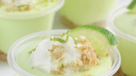 Key Lime Pie Pudding Shots Recipe