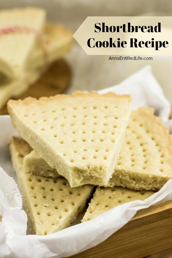 Shortbread Cookie Recipe. This 4-ingredient shortbread cookie recipe is super easy to make! This rich and delicious shortbread recipe can be used to make a large shortbread cookie (cut into diagonal slices), or cut and shaped before baking to make individual shortbread cookies. Incredibly tasty, this shortbread simply melts in your mouth.