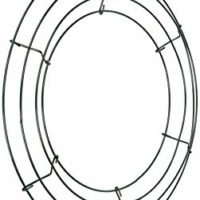 "Panacea 36003 Wire Wreath Frame 12""-Green"