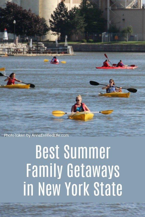 Best Summer Family Getaways in New York State. Summer means vacation time! New York State is home to many inviting spots to spend a long weekend or a full week (or two) with the family. From retracing the steps of great Olympians to camping and fishing outdoors to checking out some of the scary and fun attractions at amusement parks, New York State invites you to enjoy some great quality time with your loved ones on a terrific family getaway.