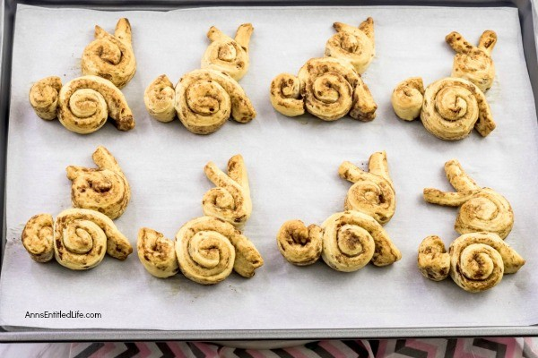 Cinnamon Roll Bunnies Recipe. Serve up these terrific sweet rolls for Easter morning breakfast. These delicious, easy to make cinnamon roll bunnies are a wonderful addition to your Easter brunch menu!