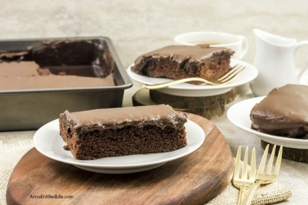 Classic Texas Sheet Cake Recipe. This old-fashioned chocolate cake recipe is so simple to make! My Grandmother made this exact recipe for many an occasion when I was growing up. This classic, chocolate Texas sheet cake is moist, sweet and totally decadent.