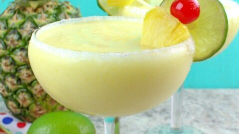 Frozen Pineapple Margarita Recipe
