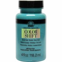 FolkArt Color Shift Acrylic Paint in Assorted Colors (4 oz), 5190 Aqua Flash