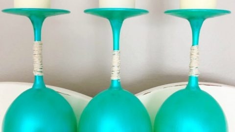 Beach Wineglass DIY Décor