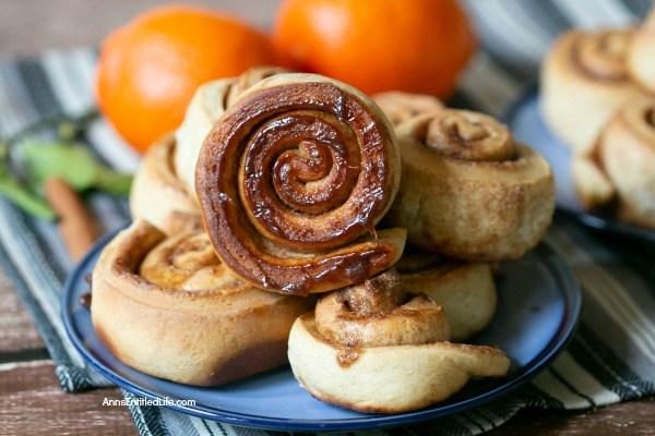 Orange Sweet Rolls Recipe. Warm, homemade sweet rolls; what could possibly taste better? And sweet rolls are not just for breakfast or the holidays! Make this delicious orange sweet rolls recipe any time of year, and serve them up for breakfast, snacks, dessert, or a wonderful lunchbox treat.