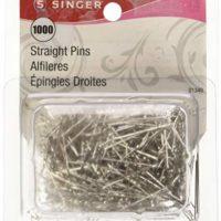 SINGER 01349 Straight Pin, 1000-Pack