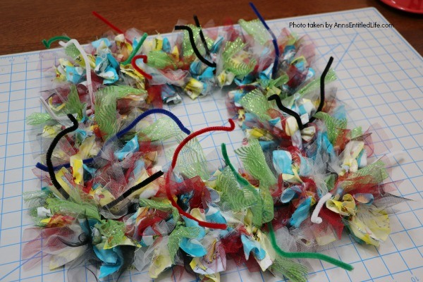 Wonky Dr. Seuss Inspired Wreath. This easy to make, wonky Dr. Seuss inspired wreath is great for all fans of Dr. Seuss literature and artwork. Fully customizable using these step-by-step instructions to reflect your favorite Dr. Seuss story, this wreath makes a wonderful gift for teachers, baby showers, a child's room, or your front door!