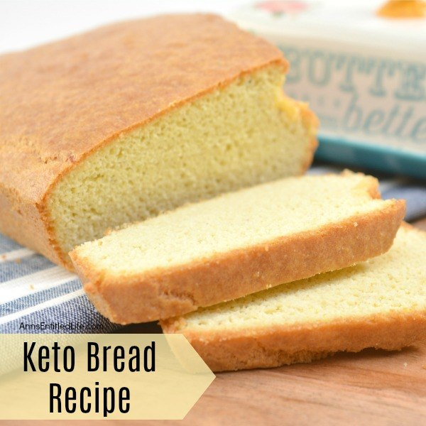 Keto Bread Loaf Recipe. Are you on the keto diet and craving a tasty low-carb bread? This keto bread recipe is moist and delicious. If you are tired of dried out, bland tasting low-carb keto-friendly breads, give this fabulous keto-friendly bread recipe a try! You will be happy you did.
