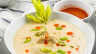 Buffalo Chicken Wing Soup Recipe