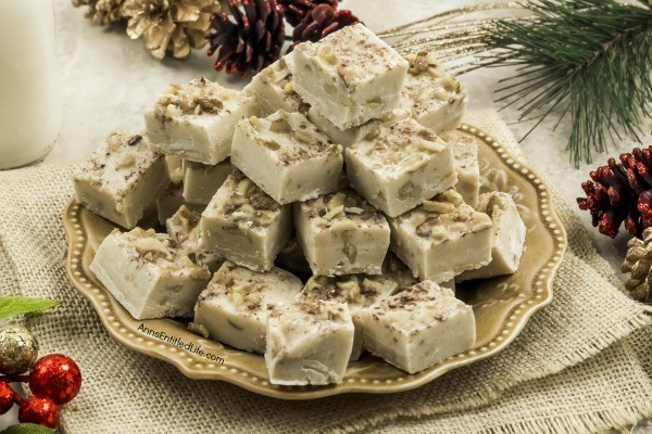 Buttered Rum Fudge Recipe. Make some delicious Buttered Rum Fudge this holiday season. This fudge is not for anyone under 21, but it sure does add a delicious and boozy treat to any holiday party. The spicy flavors of rum and cinnamon come together with white chocolate chips to make the creamiest fudge you have ever had.