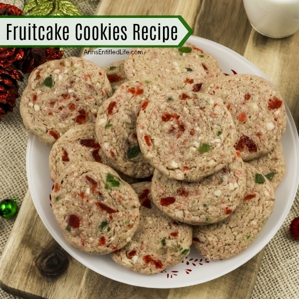 Fruitcake Cookies Recipe. These Fruitcake Cookies will get you into the holiday spirit! They have all the delicious makings of a traditional fruitcake but in a cookie form. Unique, warm, and inviting, this dessert cookie makes a great gift idea or an excellent cookie party platter addition. The spicy flavors will have you making this fruitcake cookies recipe year-round.